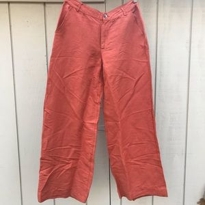 Urban Outfitters Wide Leg Linen Pant